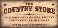 The Country Store Fine Art Print