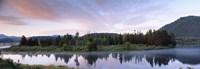 USA, Wyoming, Grand Teton Park, Ox Bow Bend Fine Art Print