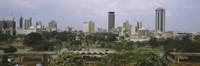 Skyline View of Nairobi, Kenya Fine Art Print