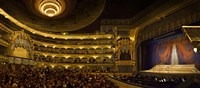 Crowd at Mariinsky Theatre, St. Petersburg, Russia Fine Art Print