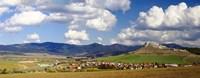 Castle on a hill, Spissky Hrad, Slovakia Fine Art Print
