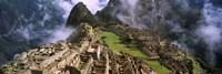 Inca Ruins, Machu Picchu, Peru Framed Print