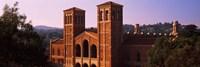 Royce Hall at the campus of University of California, Los Angeles, California, USA Fine Art Print