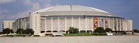 Baseball stadium, Houston Astrodome, Houston, Texas, USA Framed Print