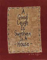 Sunshine in a House Fine Art Print