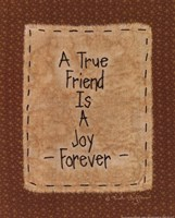 A True Friend Fine Art Print