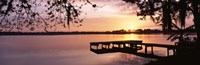 Lake Whippoorwill, Sunrise, Florida Fine Art Print
