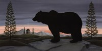 Bear at Dusk Fine Art Print