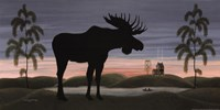 Moose at Dusk Fine Art Print
