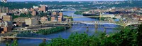 Monongahela River Pittsburgh PA USA Fine Art Print