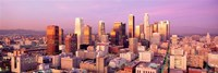 Sunset Skyline Los Angeles CA USA Fine Art Print