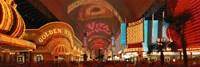 Fremont Street Las Vegas NV USA Fine Art Print