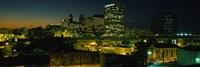 Newark, New Jersey at Night Fine Art Print