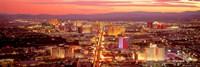 Aerial Las Vegas NV USA Fine Art Print