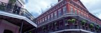 Wrought Iron Balcony New Orleans LA USA Fine Art Print
