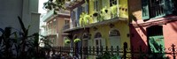 Buildings along the alley, Pirates Alley, New Orleans, Louisiana, USA Fine Art Print