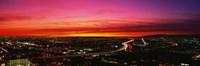 Aerial Los Angeles CA Fine Art Print
