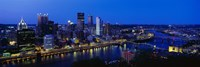 Pittsburgh from Mount Washington Fine Art Print