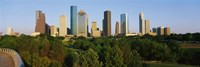 Downtown Houston Fine Art Print