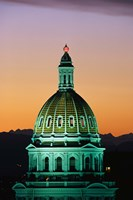 Colorado State Capitol Building Denver CO Fine Art Print