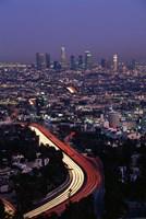Hollywood Freeway Los Angeles CA Fine Art Print