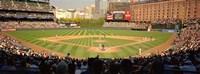 Camden Yards Baseball Game Baltimore Maryland Fine Art Print