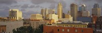 Kansas City, Missouri Skyline Fine Art Print