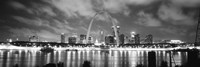 Evening St Louis MO Fine Art Print