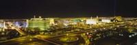 Night view of Las Vegas, Nevada Fine Art Print