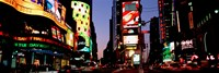 Times Square, New York City at night Fine Art Print