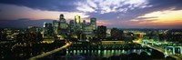 Minneapolis At Dusk, Minnesota Fine Art Print