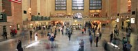 Passengers At A Railroad Station, Grand Central Station, Manhattan, NYC, New York City, New York State, USA Fine Art Print