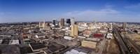Aerial view of a city, Birmingham, Alabama, USA Fine Art Print