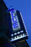 The Blue Room Jazz Club, 18th & Vine Historic Jazz District, Kansas City, Missouri, USA Fine Art Print