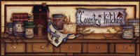 Country Kitchen Shelf Fine Art Print