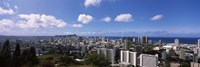 Honolulu City Skyline Fine Art Print