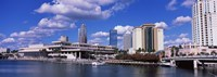 Buildings at the coast, Tampa, Hillsborough County, Florida, USA Fine Art Print