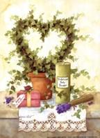 Botanical Body Powder Fine Art Print