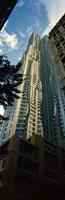 Low angle view of an apartment, Wall Street, Lower Manhattan, Manhattan, New York City, New York State, USA Fine Art Print