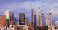 Los Angeles skyline, Los Angeles County, California, USA Fine Art Print