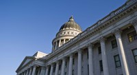 Utah State Capitol Building, Salt Lake City, Utah Fine Art Print