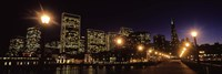 San Francisco Skyline at Night Fine Art Print