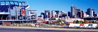 Stadium in a city, Sports Authority Field at Mile High, Denver, Denver County, Colorado Fine Art Print