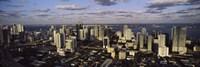Clouds over the city skyline, Miami, Florida Fine Art Print