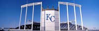 Baseball stadium, Kauffman Stadium, Kansas City, Missouri, USA Fine Art Print