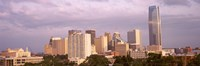 Downtown skyline, Oklahoma City, Oklahoma Fine Art Print