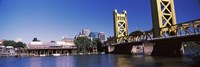 Tower Bridge, Sacramento, CA, USA Fine Art Print