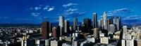 Skyline from TransAmerica Center Los Angeles CA USA Fine Art Print