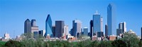 Downtown Dallas Texas Fine Art Print