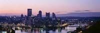USA, Pennsylvania, Pittsburgh, Monongahela River Fine Art Print
